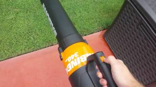 WORX Turbine electric blower review