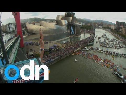 Brit gets second place in Red Bull Cliff Diving comp