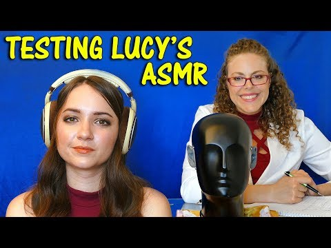 Real Time Top 10 ASMR Tingles Test on Lucy by Doctor Slumber