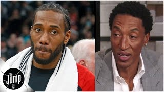 Scottie Pippen details the time Popovich had him talk to Kawhi Leonard | The Jump