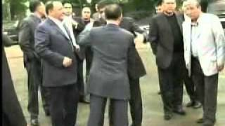 криминальный авторитет Узбекистана Гафур Рахимов на ROLLS-ROYCE