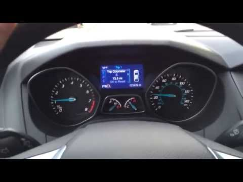 2014 Ford Focus SE Transmission Slipping