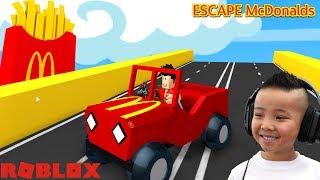 ESCAPE McDONALDS Roblox Fun Gameplay CKN Gaming