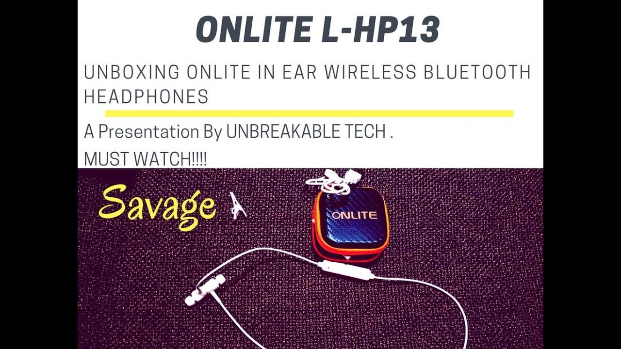 b675d3e6fd5 UNBOXING VERY AFFORDABLE BLUETOOTH HEADPHONES || ONLITE FREEDOM BLUETOOTH  HEADPHONES || OVERVIEW.