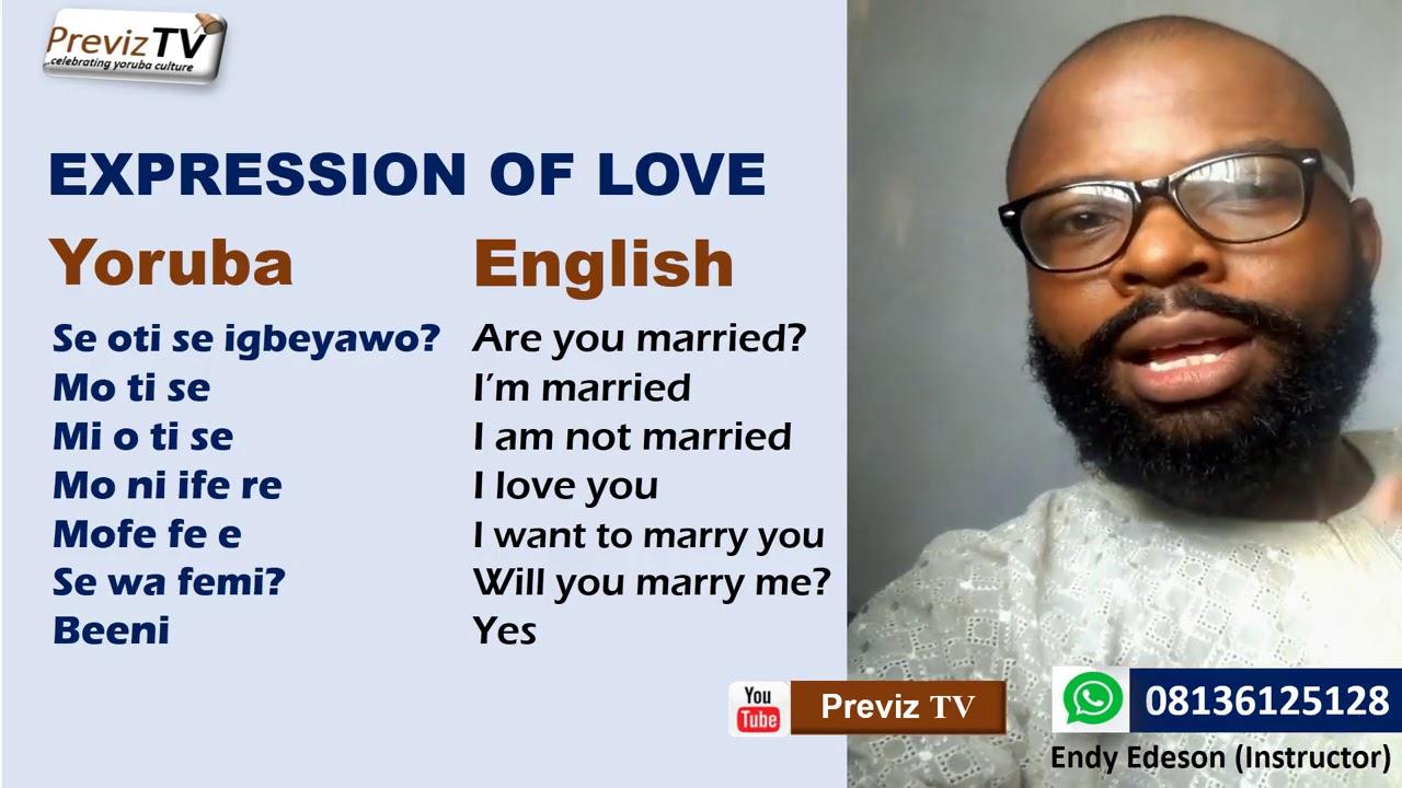 Girlfriend names romantic your yoruba call to 12 Romantic