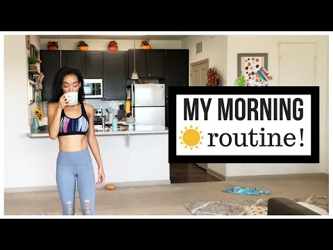 MY MORNING ROUTINE AS A MOM // STAY AT HOME MOM MORNING ROUTINE // Jessica Tull