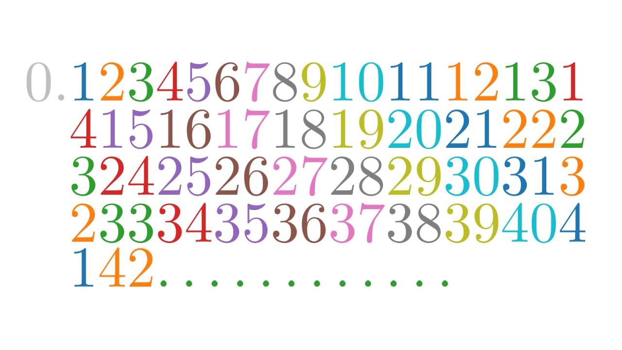 """Die Champernowne-Zahl - die """"erste"""" normale Zahl"""