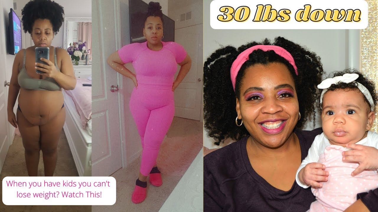 Postpartum Body Transformation | 30 lbs in 3 months