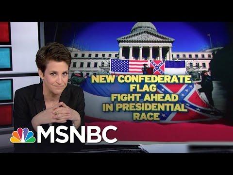 Mississippi Keeps Confederate Emblem In Flag   Rachel Maddow   MSNBC
