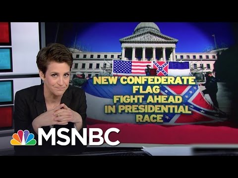 Mississippi Keeps Confederate Emblem In Flag | Rachel Maddow | MSNBC