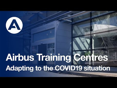 Airbus Training Centres adapting to the COVID19 situation