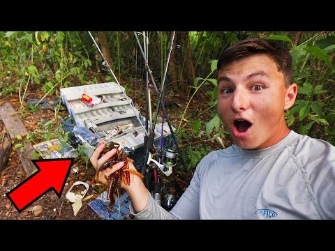 WE Found $1,000 Of ABANDONED Fishing Tackle (Not Clickbait!)