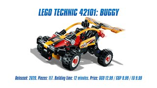 LEGO Technic 42101: Buggy: Speed Build & Review [4K]