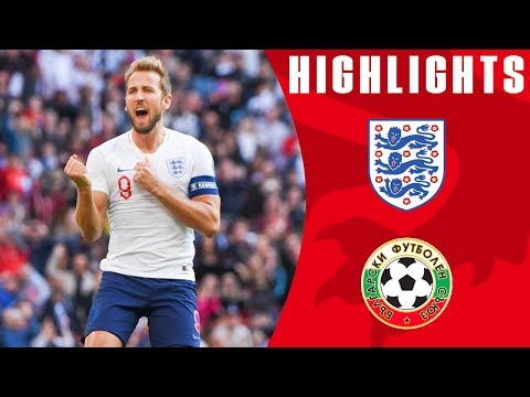 England 4-0 Bulgaria | Kane Hat-Trick Maintains Perfect Reco