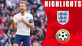 England 4-0 Bulgaria | Kane Hat-Trick Maintains Perfect Record | Euro 2020 Qualifiers | England