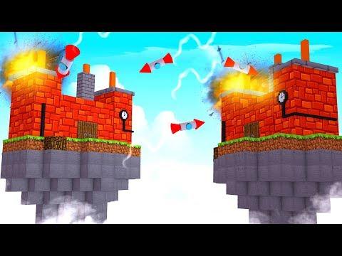 Minecraft | SKY BASE HIDE AND SEEK BATTLE! (Sky Fort Challenge)