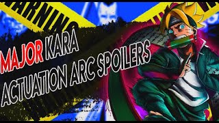 MAJOR Kara Actuation Arc Spoilers Reveal Major Change For Boruto Naruto Next Generations!