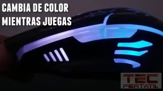 Mouse Gamer Eagle Warrior G16 Retroiluminado