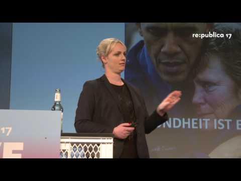 re:publica 2017 – Elisabeth Wehling: Die Macht der Sprachbilder –  Politisches Framing ...