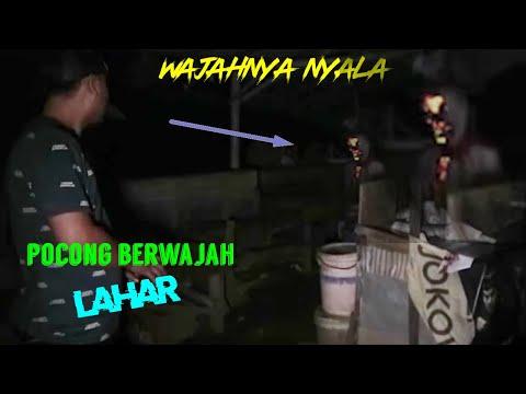 Diludahi Pocong Berwajah Lahar Di Warung Doyong #bajultv