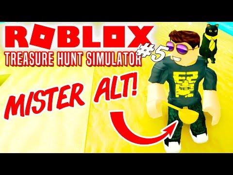 GULDSKE OG MISTER ALT! - Roblox Treasure Hunt Simulator Dansk Ep 5