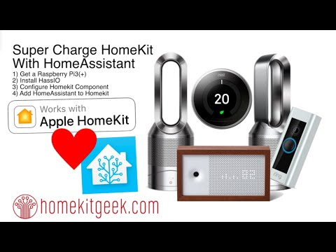 HOW TO Connect Home Assistant to Apple Homekit - YouTube