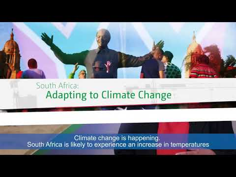 South Africa. Are the changes affecting the climate? Is the globe warm enough? What's Humanity DO?