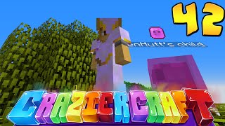"Minecraft Crazier Craft #42 ""EASIEST 6 TIER  DUNGEON RAID!"""
