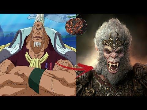 (Sun Wu)Kong - Il Marine Invulnerabile - One Piece Teoria