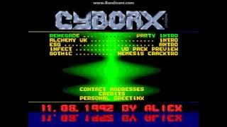 Cyborx - Total Addiction Vol. 4 (Amiga Demoscene 1992 ECS/OCS Packmenu)