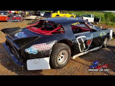 #8W Blake Wright - 1st Feature - Thunder - 5-12-18 I-75 Raceway - In Car Camera