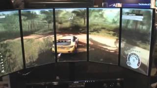 Samsung Multi Display Gaming Setup (Samsung Spring Showcase NYC)
