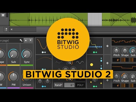 Announcing Bitwig Studio 2