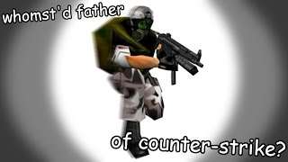 DAD. COUNTER-STRIKE.