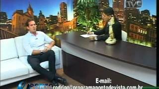 179 1Ricardo Collyer entrevistado por Rodrigo Waughan no Ponto de vista