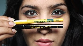 *NEW* Maybelline Colossal Liner & Colored Kohl : Review & Demo!