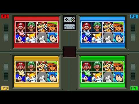pt 2) Super Clash Bros v 01 - online match via Parsec - YouTube