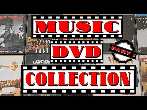 My Music DVD Collection  - Part 1