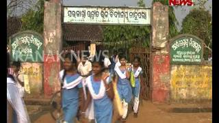 CRPF Misbehaves Girl Student in Bolangir