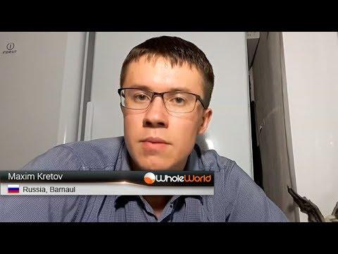 Отзыв участника Whole World - Maxim Kretov, Russia, Barnaul