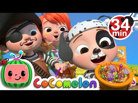 Halloween Pumpkin Patch Song + More Nursery Rhymes & Kids Songs - CoComelon