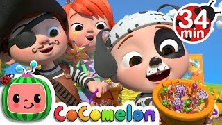 Gambar cover Halloween Pumpkin Patch Song + More Nursery Rhymes & Kids Songs - CoCoMelon