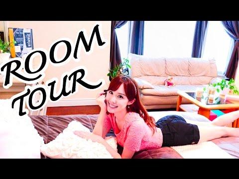 【 ROOM TOUR!! 】My Bedroom, Makeup Vanity, Bathroom, & Office   ルームツアー by Melodee Morita