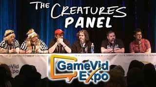 The Creatures GameVidExpo 2014 Panel - ft. Chip and Marshal Bowdrie