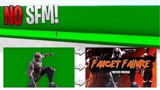 Green Screen Map on Fortnite, No SFM Needed!