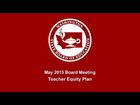 Teacher Equity Plan Part 1