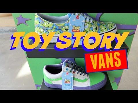 Vans Buzz Lightyear On Feet