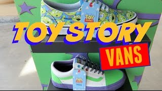 TOY STORY VANS | WHICH ONES DID WE BUY?