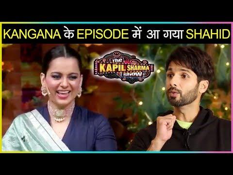 Kangana Ranaut EPIC MOMENT With Chandan As Kabir Singh   Shahid Kapoor   The Kapil Sharma Show
