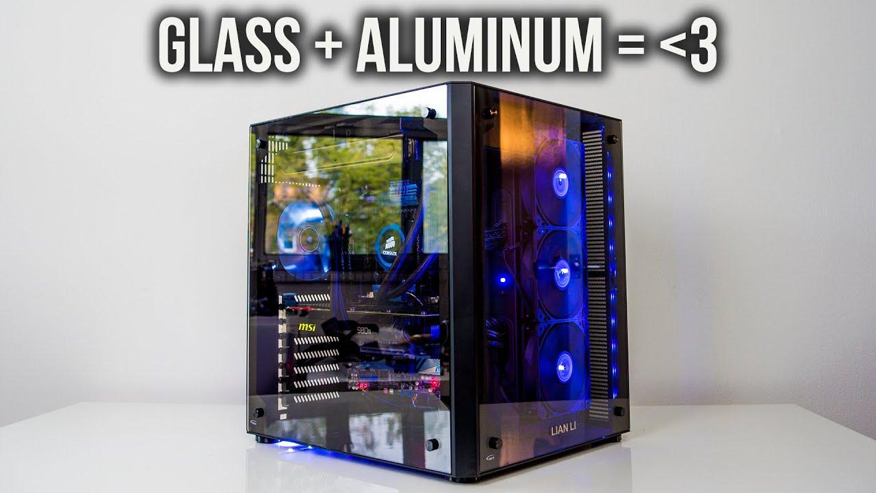 Lian Li Pc 08 Case Review Beautiful Aluminum Glass Craftsmanship You
